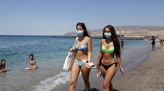 Vuelve el riesgo amarillo por calor a la provincia de Almería