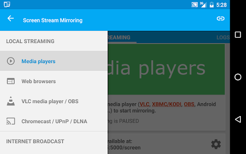 Screen Stream Mirroring v2.2.5e
