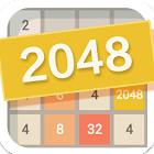 2048  puzzle numbers game icon
