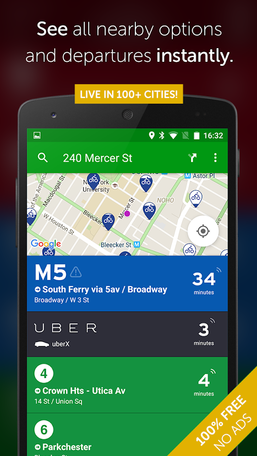 Transit App: Real Time Tracker- screenshot