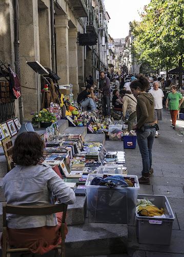 Open air market in city of Pontevedra by Frank Barnitz - City,  Street & Park  Markets & Shops ( market, open air, pontevedra,  )