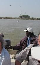 Photo: Sn1P0506-160205le pilote du canot pour la découverte du Parc Ornithologique du Djoudj IMG_0530