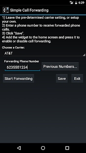 Simple Call Forwarding- screenshot thumbnail