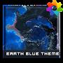 Премиум Earth Blue Theme For Xperia временно бесплатно