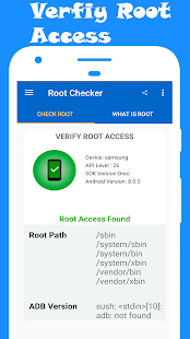 Root Checker: with Terminal Emulator and SafetyNet Screenshot