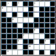 French English CrossWord