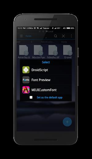 MIUI Custom Font Installer screenshot 5