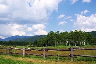 Photo: 牧場にはお馬さん不在…。