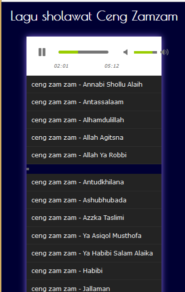 Download Lagu Sholawat Ceng Zamzam : download, sholawat, zamzam, Sholawat, Download, Music, Audio