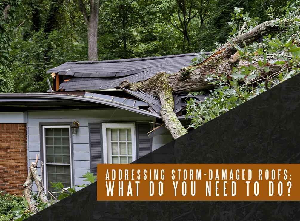 Storm-Damaged Roofs