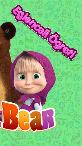 Masha and The Bear Number Saymayu0131 Learn (Child) 1.0 screenshots 2