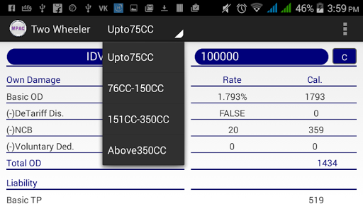 Mib Motor Insurance Calculator Apk Download Only