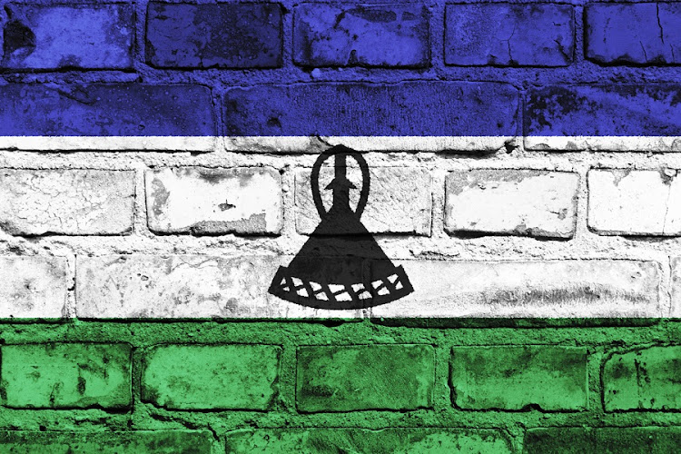 Lesotho flag. Picture: ISTOCK