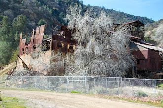 Photo: Abandoned ore processing plant (mercury).