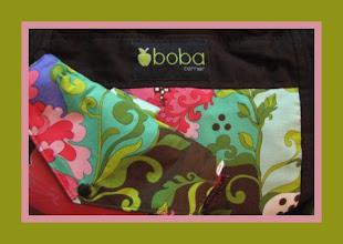 Photo: *Lila*  customized Boba Baby Carrier custom Mai Poketto