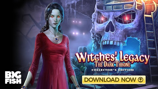 Hidden Objects - Witches' Legacy: The Dark Throne Screenshot