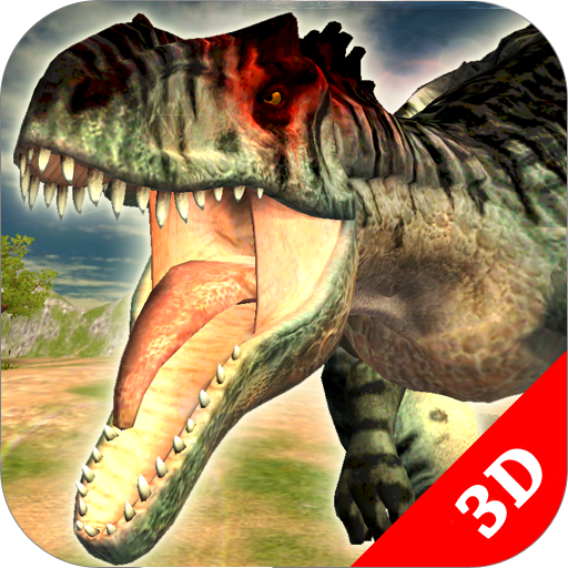 Allosaurus Simulator : Dinosaur Survival Battle 3D