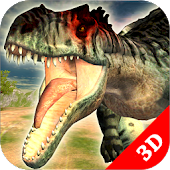 Simulador de Allosaurus : Dinosaur Survival Battle