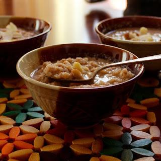 Kheer (Rice Pudding)-Vegan, Paleo, GF, Sugar-Free.