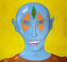 Image result for short blue man from alcyone