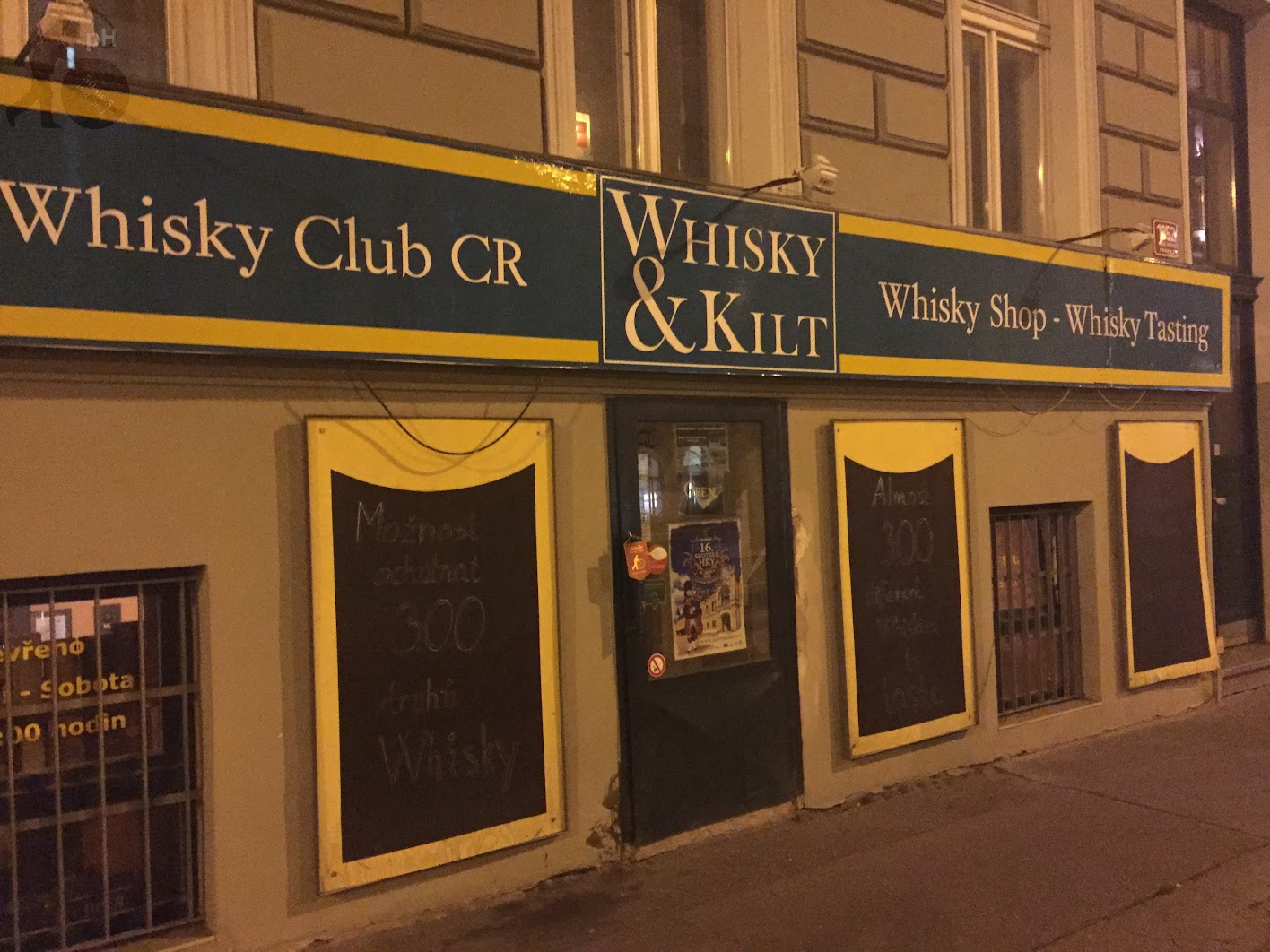 Whisky & Kilt Prague