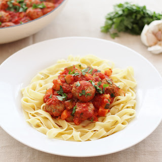 Spiced Lamb Meatballs In Tomato Sauce Recipes