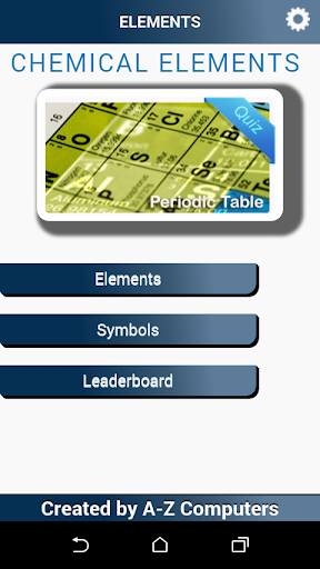 Periodic Table Element Quiz