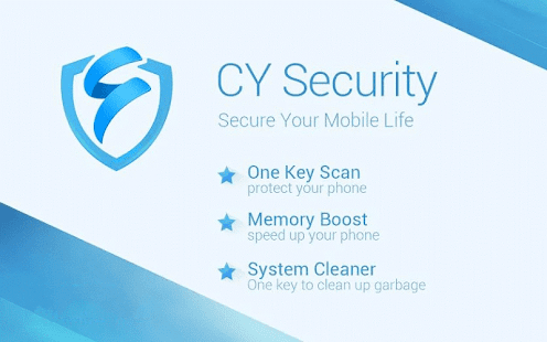 CY Security Antivirus Cleaner Screenshot