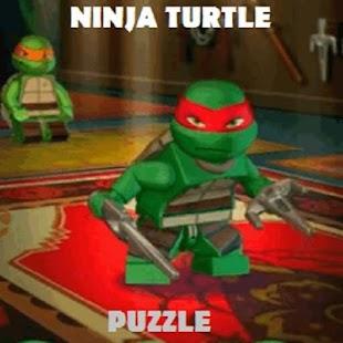 ninjaGO turtle warrior puzzle - náhled