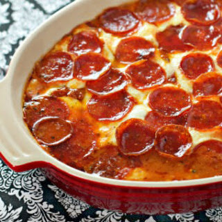 Pepperoni Pizza Chicken Bake Recipe