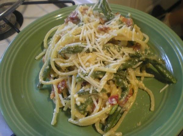 Green Bean Carbonara Recipe