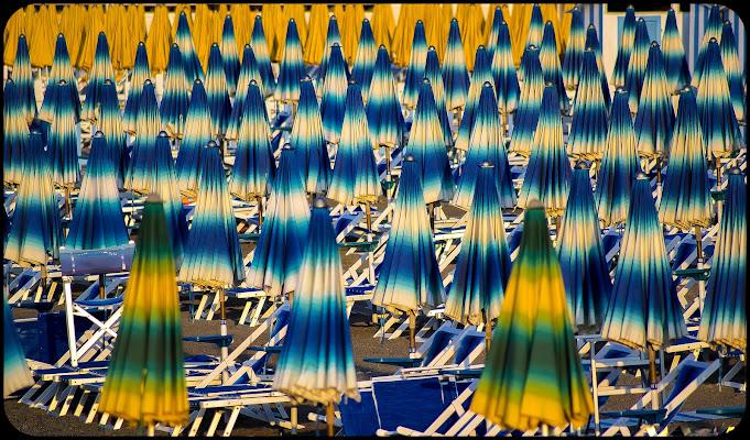 La spiaggia dei cento ombrelloni