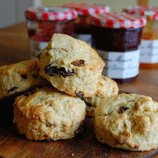 Raisin, Golden Sultana and Goji Berry Scones