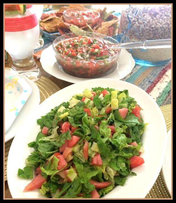 Mexican Side Salad Mmb
