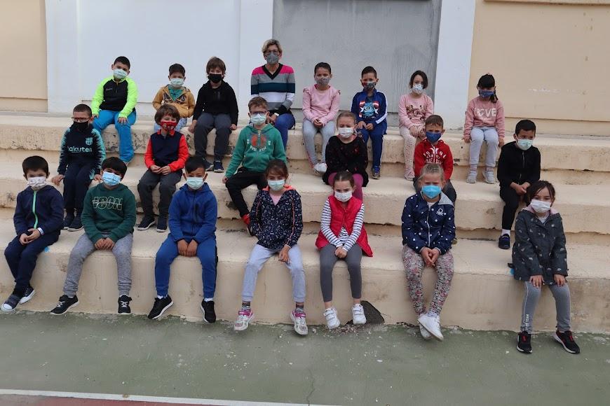 ALMERÍA CEIP Colonia Araceli. 1º de Primaria