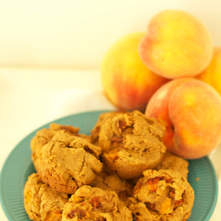 Peach Muffins Gluten Free Dairy Free