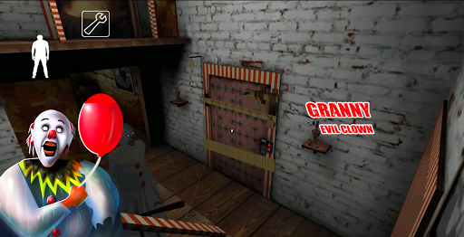Pennywise! Evil Clown - Granny Horror Games 2021  screenshots 1