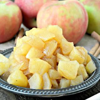 Pumpkin Pie Spiced Apple Compote Recipe
