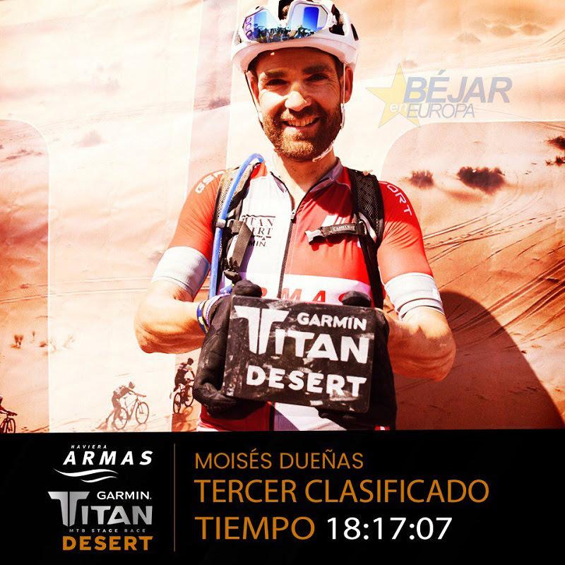 Moisés Dueñas - Garmin Titan Desert