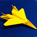 Как сделать самолет оригами. Инструкция icon
