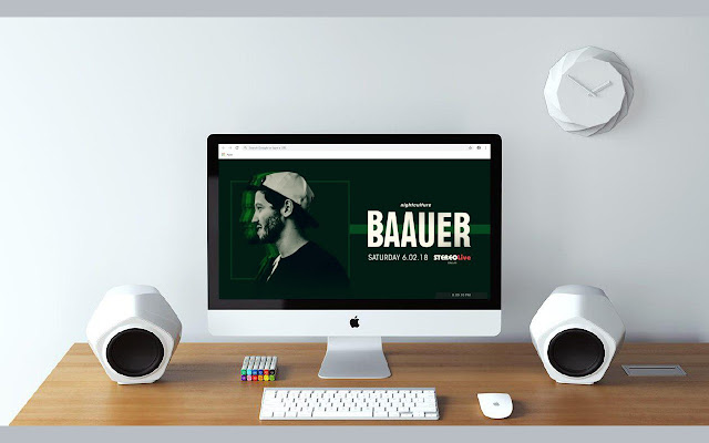 Baauer New Tab & Wallpapers Collection