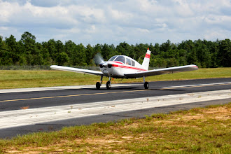 Photo: I enjoy seeing different pilot's style.  David reaches flying speed and pulls it up.
