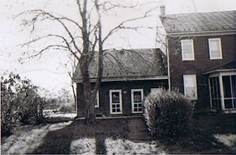 Photo: View from north, original dwelling on east side