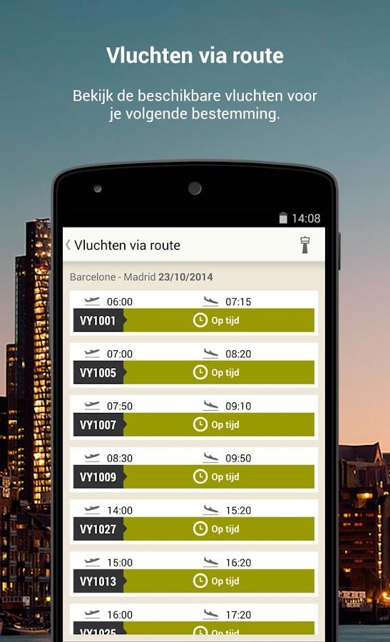 Vueling -Goedkope Vliegtickets: screenshot