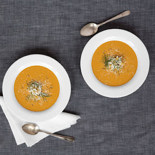 Roasted Garlic and Dungeness Crab Soup