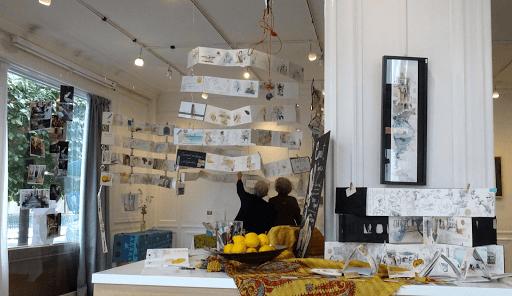 expo CARNET DE VOYAGE Aigle Noir FONTAINEBLEAU sept 2019