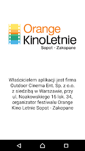Orange Kino Letnie- screenshot thumbnail
