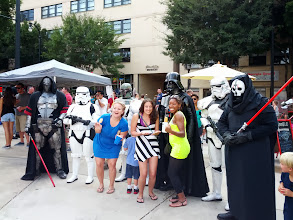 Photo: Streets Alive - the girls with some cool dudes