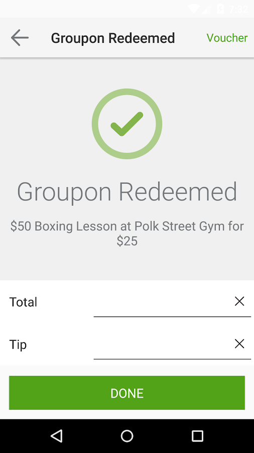 Groupon Merchants- screenshot