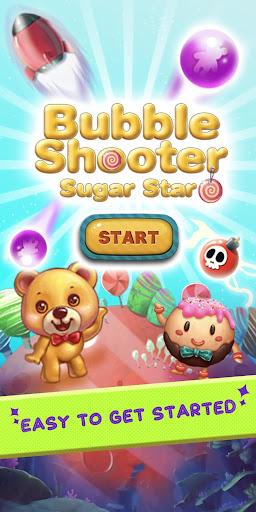 bubble shooter - sugar star screenshot 1